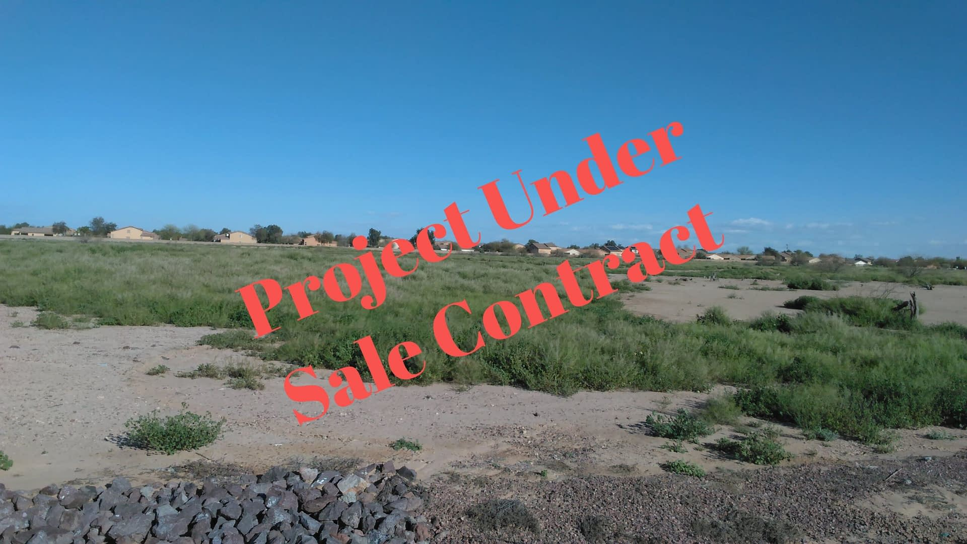 Purchase and rezoning of 35 acres of land in Maricopa, AZ – fully funded