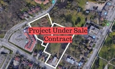 Purchase and rezoning of land in Brantford, ON – fully funded